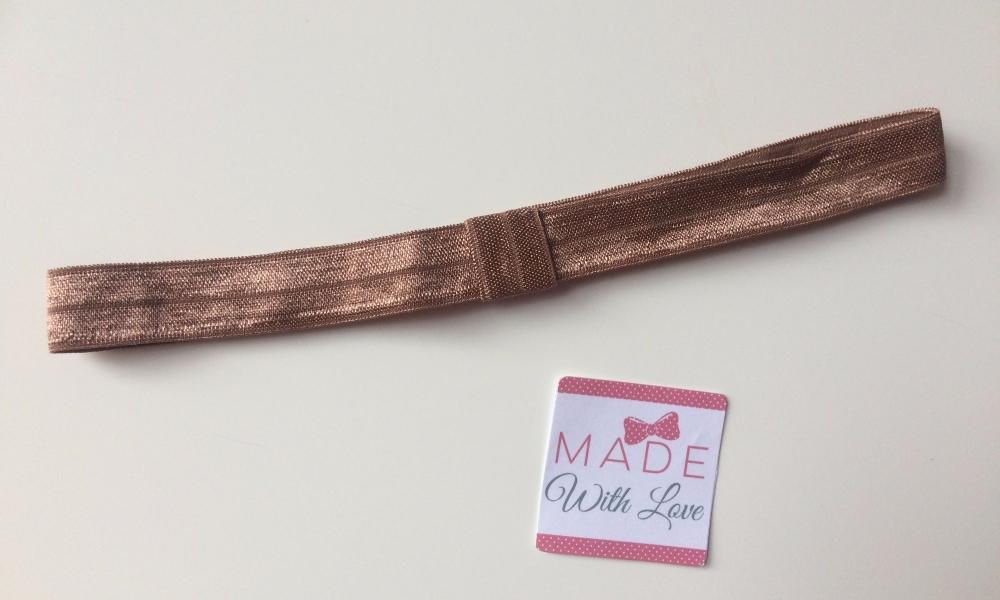 Changeable Soft Elastic Headband - Brown
