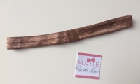 Changeable Soft Elastic Headband - Brown