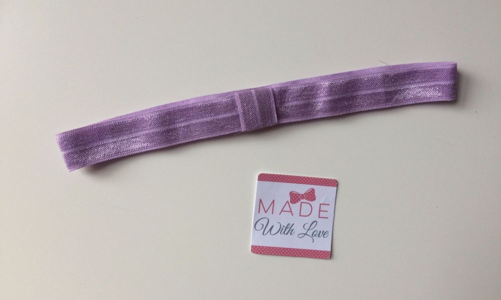 Changeable Soft Elastic Headband - It Orchid