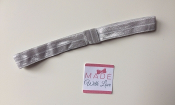 Changeable Soft Elastic Headband - Grey