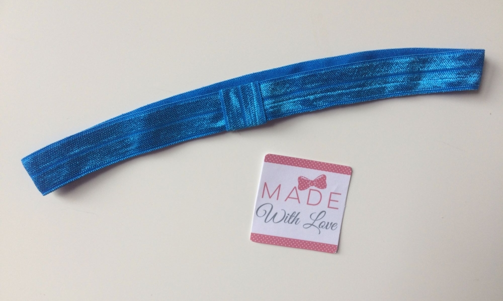 Changeable Soft Elastic Headband - Royal Blue