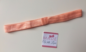 Changeable Soft Elastic Headband - Peach