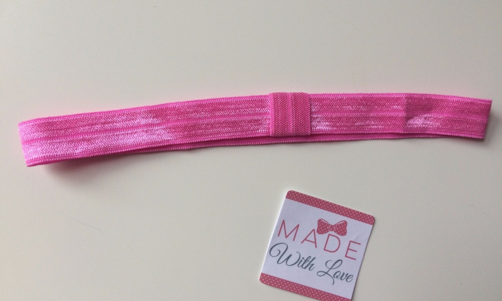 Changeable Soft Elastic Headband - Wild Rose