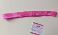 Changeable Soft Elastic Headband - Wild Rose