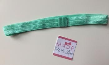 Changeable Soft Elastic Headband - Aqua