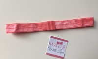 Changeable Soft Elastic Headband - Coral