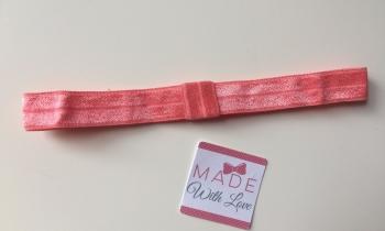 Changeable Soft Elastic Headband - Coral