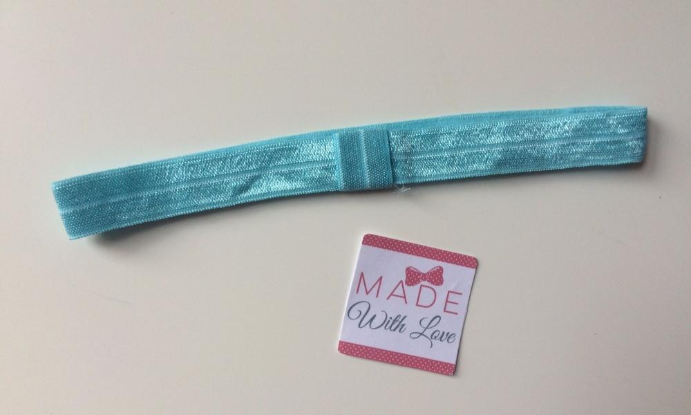 Changeable Soft Elastic Headband - Baby Blue