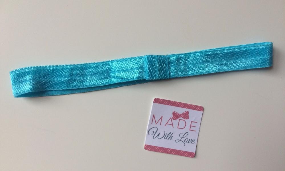 Changeable Soft Elastic Headband - Turquoise