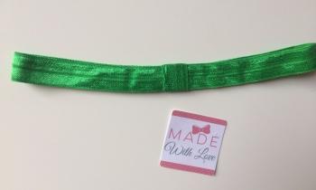 Changeable Soft Elastic Headband - Emerald Green