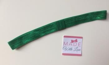 Changeable Soft Elastic Headband - Bottled Green