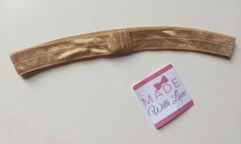Changeable Soft Elastic Headband - Camel