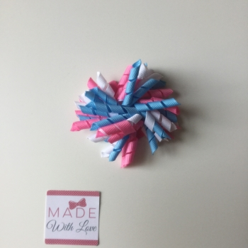 Corker Clip - Blue, Pink & White