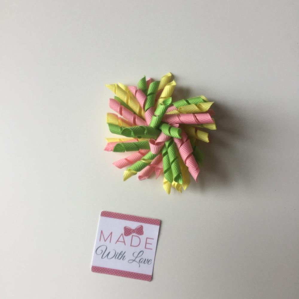 Corker Clip - Green, Yellow & Pink