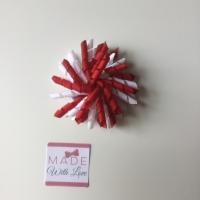 Corker Clip - Red & White