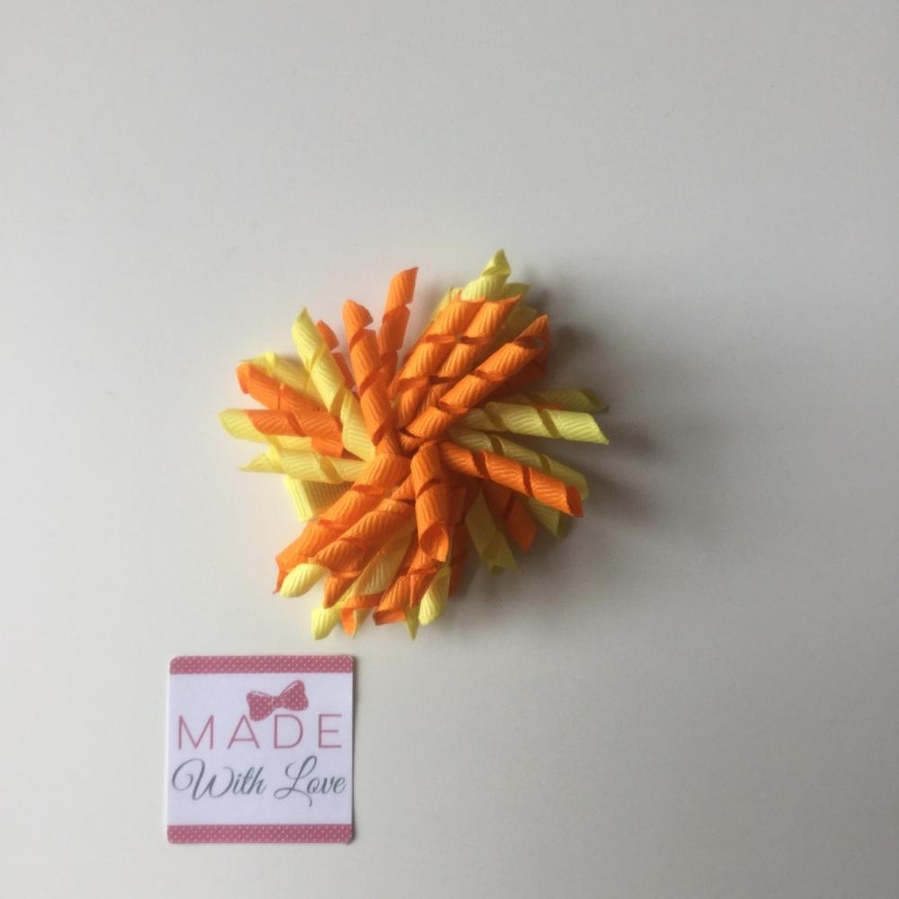 Corker Clip - Yellow & Orange