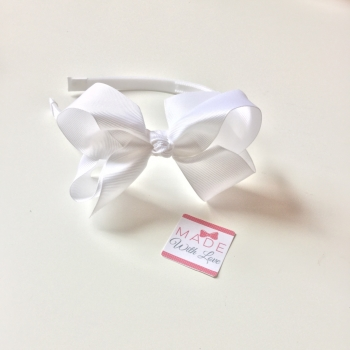 White Alice Headband