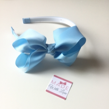 Baby Blue Alice Headband