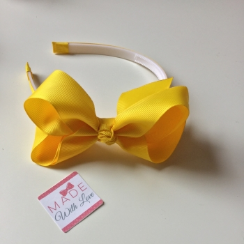 Yellow Alice Headband