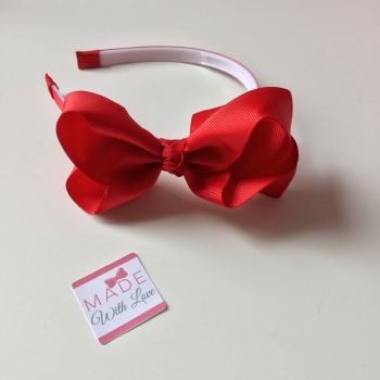 Red Alice Headband