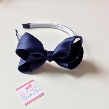 Navy Alice Headband