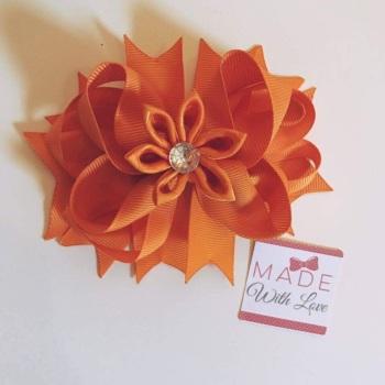 Flower Middle - Orange