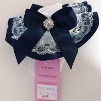 Frilly Socks -Navy