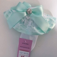 Frilly Socks- Mint