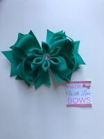 """4.5"""" Flower Middle - Jade"""
