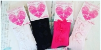 Baby Bow Tights - 4 Colours