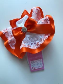 Frilly Socks - Orange
