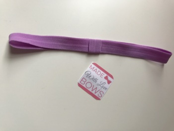 Changeable Soft Elastic Headband - Matt Lilac