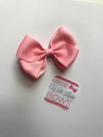 "2.5"" Bow Clip - Baby Pink"