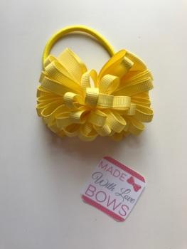 "3.5"" Loop Bobble - Yellow"