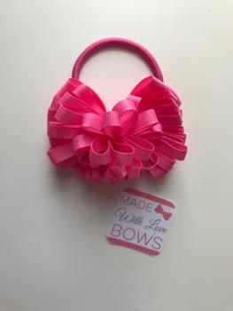 "3.5"" Loop Bobble - Hot Pink"