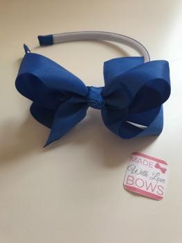 Alice Headband - Royal Blue