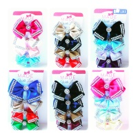 4 Diamanté Clips Pack - Choose your own colours