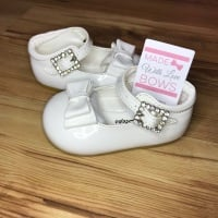 Bow Shoes - White