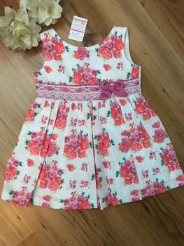 Floral Waist Spanish Dress