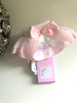 Frilly Socks - Baby Pink