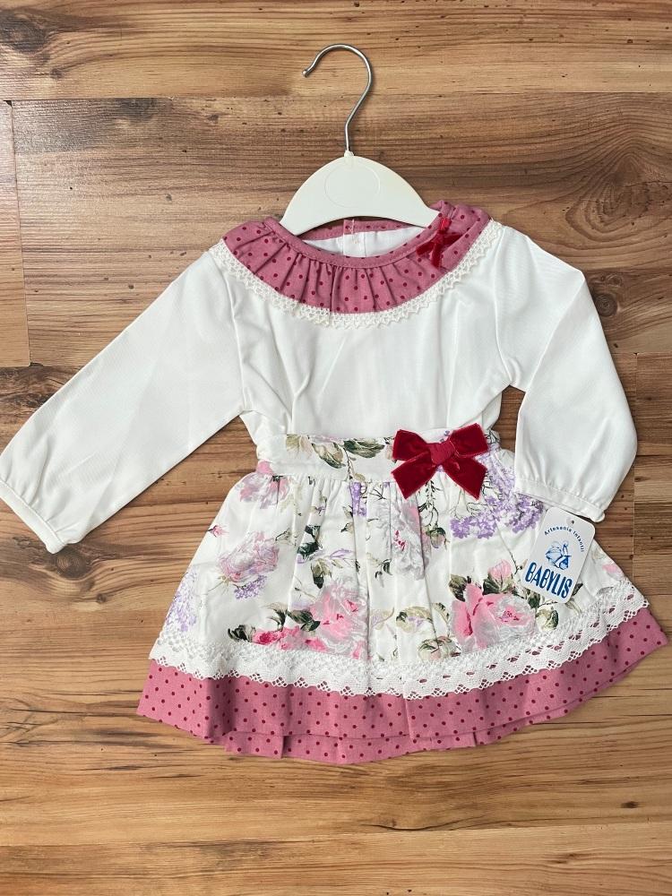 Babylis Spanish Top & Skirt Set
