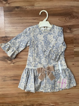 Dulce De Fresa Drop-Waist Spanish Dress