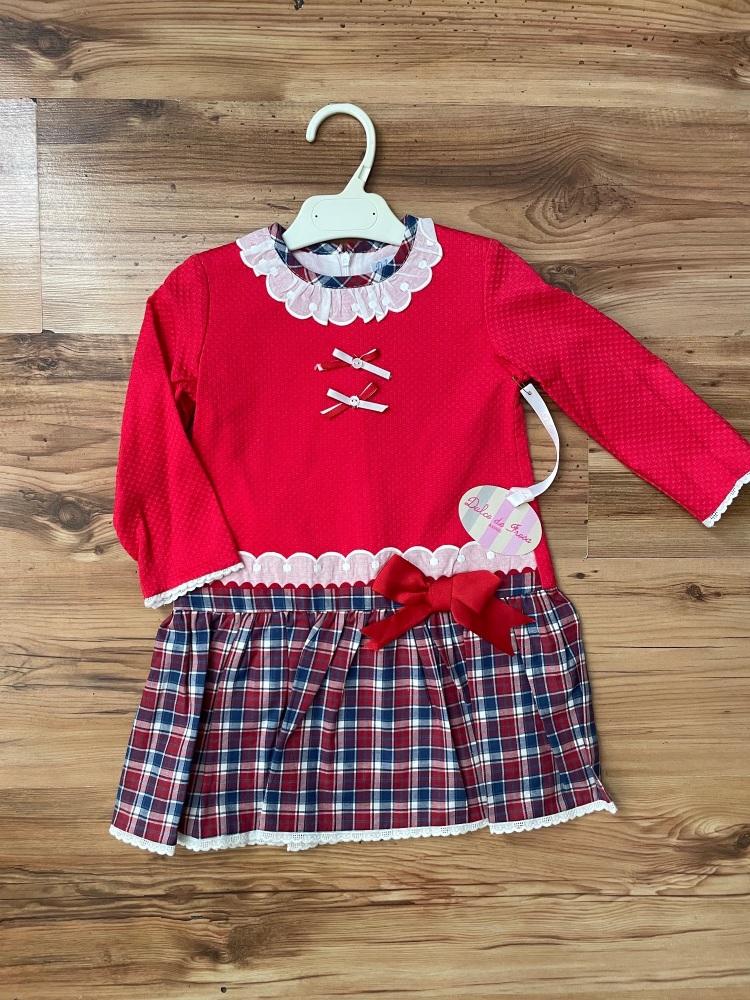 Dulce De Fresa Tartan Dress