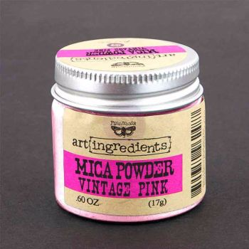 Finnabair Art Ingredients - Mica Powder Vintage Pink