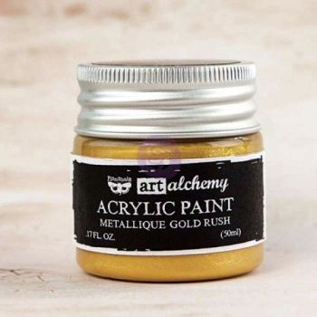 Prima Art Alchemy Acrylic Paint - Metallique Gold Rush