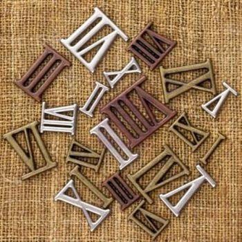 Prima Finnabair Vintage Trinkets - Mini Roman Numerals