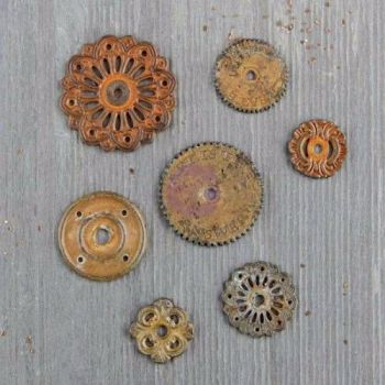 Prima Finnabair Mechanicals - Rustic Washers
