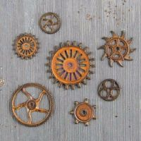 Prima Finnabair Mechanicals- Rusty Gears