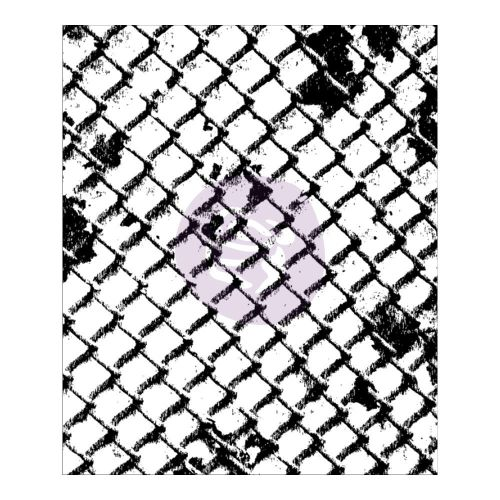 Prima Finnabair Clear Cling Stamps - Net Wire