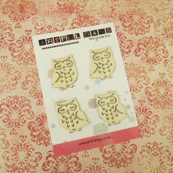 Sept Extra ~ Wooden Owls